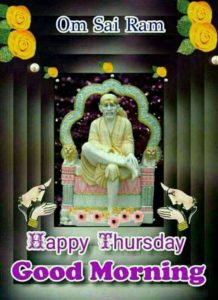 Good Morning Sai Baba Lover Image