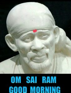 Good Morning Sai Baba Photos