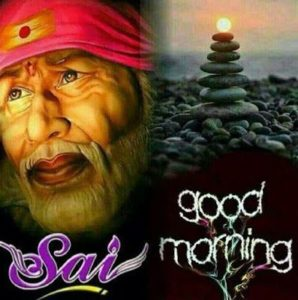 HD Good Morning Sai Baba Images