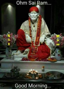 Sai Baba Good Morning Images