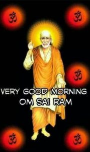 Sai Baba Good Morning Images for Mobile