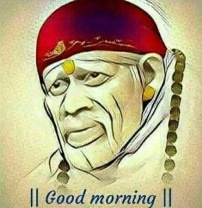 Sai Baba Images with Good Morning