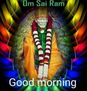 Sai Ram Good Morning Image