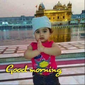 Baby Boy Good Morning Images in Hindi