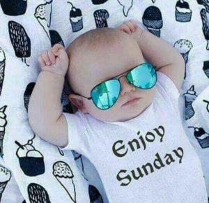 Cute Baby Good Morning Photos in Hindi