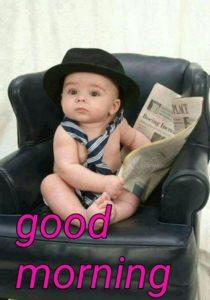 Cute Kid Good Morning Pics