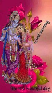 Good Morning Krishna Ji Image