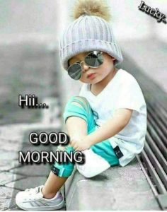 Good Morning Photos for Kids in Hindi