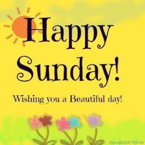 Happy Sunday Good Morning Wishes Images