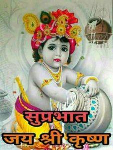 Jai Shri Krishna Good Morning