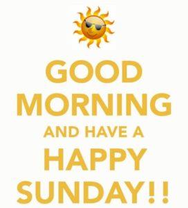 Sunday Good Morning Wishes in Hindi