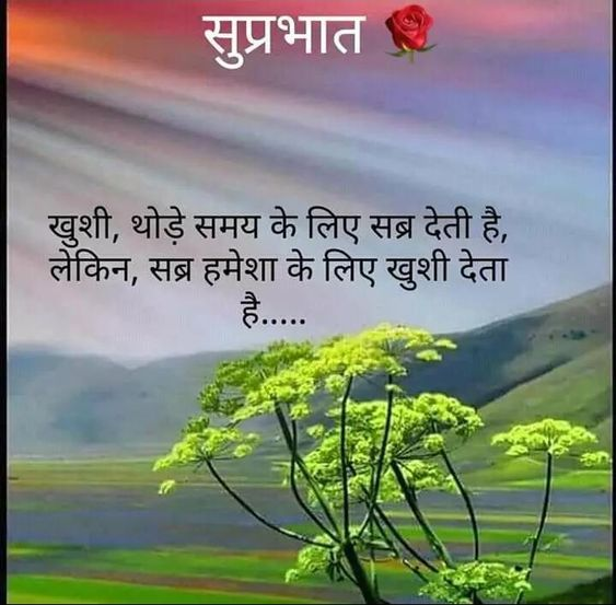101 Suprabhat Good Morning Quotes In Hindi With Photo