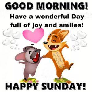 Wonderful Sunday Good Morning Image