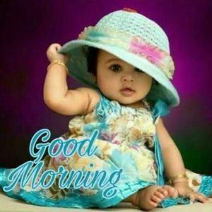 Baby Girl Good Morning Photo So Cute