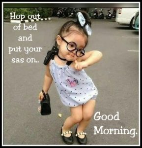 Best Cute Girl Good Morning Images in Hindi