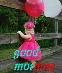 Cute Good Morning Image Girl
