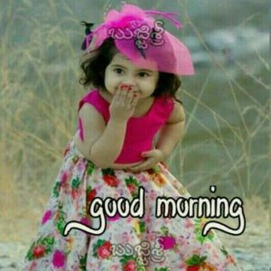 Cute Indian Girl Good Morning Pics