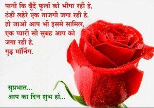 Cute Love Good Morning Pics in Hindi