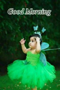Cute Princess Girl Good Morning Images