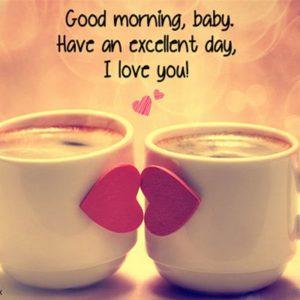 Cute Romantic Good Morning Images