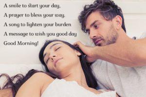 Cute Romantic Good Morning Wallpaper