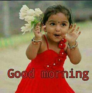 Good Morning Baby Girl Photo