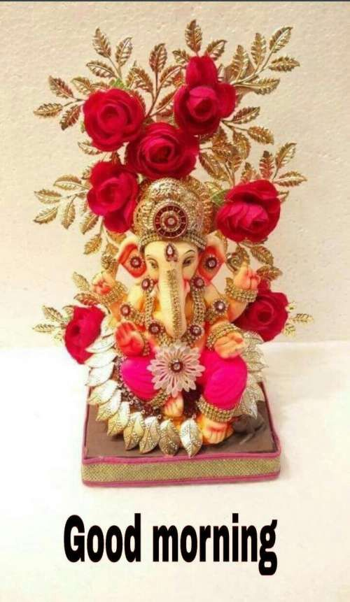 83 Good Morning Ganesh Images Hd Ganesha Photos For Wednesday