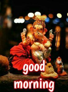Good Morning Bhagwan Ganesha Ji Image