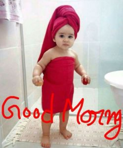 Good Morning Cute Girls Pictures