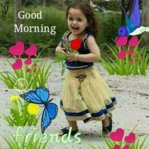 Good Morning Cute Image Wish