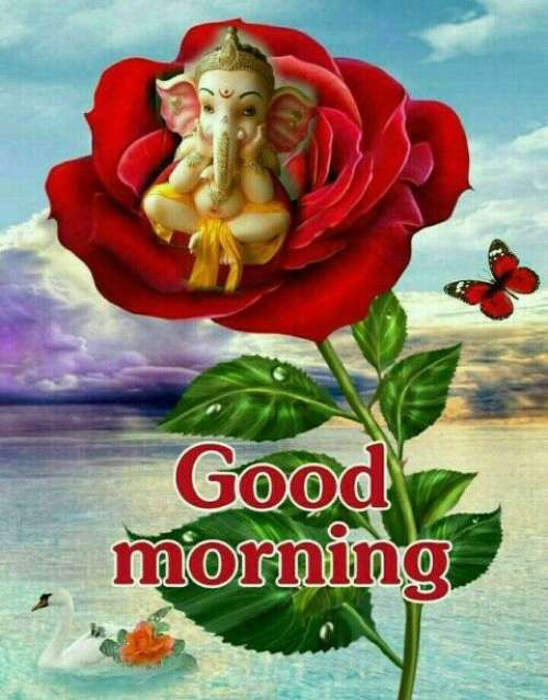 83 Good Morning Ganesh Images Hd Ganesha Photos For Wednesday