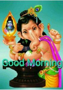 Good Morning Ganesh Photo Image
