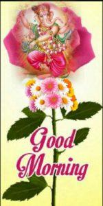 Good Morning Happy Ganesh Image