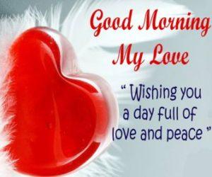 Good Morning Love Image for Girlfriend