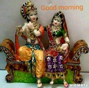 Good Morning Radhe Krishna Images