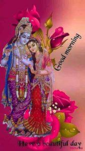Good Morning Radhe Krishna Ki Image