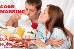Good Morning Romantic Husband Wife Images