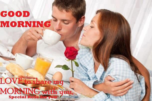 30 Romantic Good Morning Images For Lovely Couples