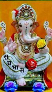 Good Morning Shree Ganesh Image HD