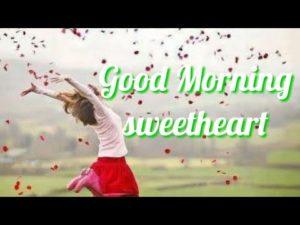 Good Morning Sweetheart Romantic Image