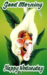Happy Wednesday Good Morning Ganesh Images