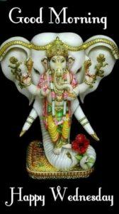 Happy Wednesday Good Morning Ganesha Photos