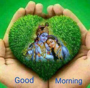 Radha Krishna Good Morning Image HD