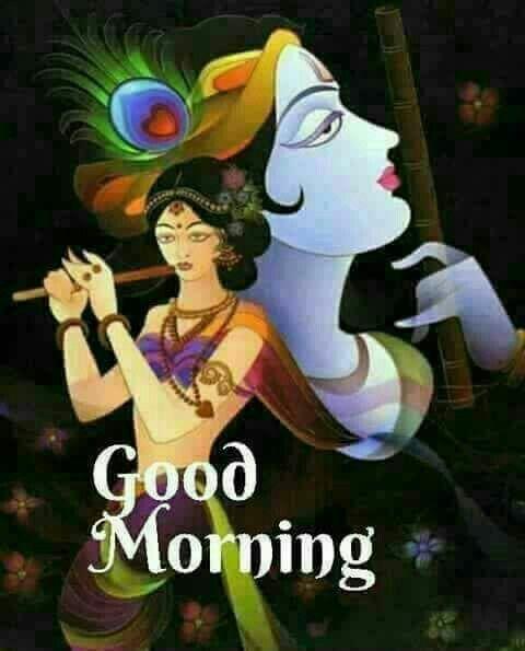 44 Radha Krishna Good Morning Images To Download