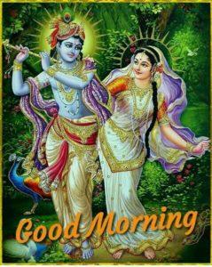 Radhe Krishna Good Morning Pics