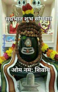 Shivling Good Morning Somwar Images