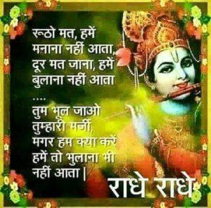 Shukrawar Good Morning Image Radhe Radhe