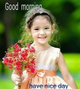 Sweet Good Morning Image Cute Girl