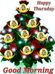 Thrusday Sai Baba Good Morning Photo