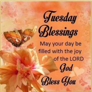 Tuesday Blessing Good Morning Photos